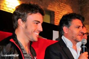 Fernando Alonso & Pablo de Villota