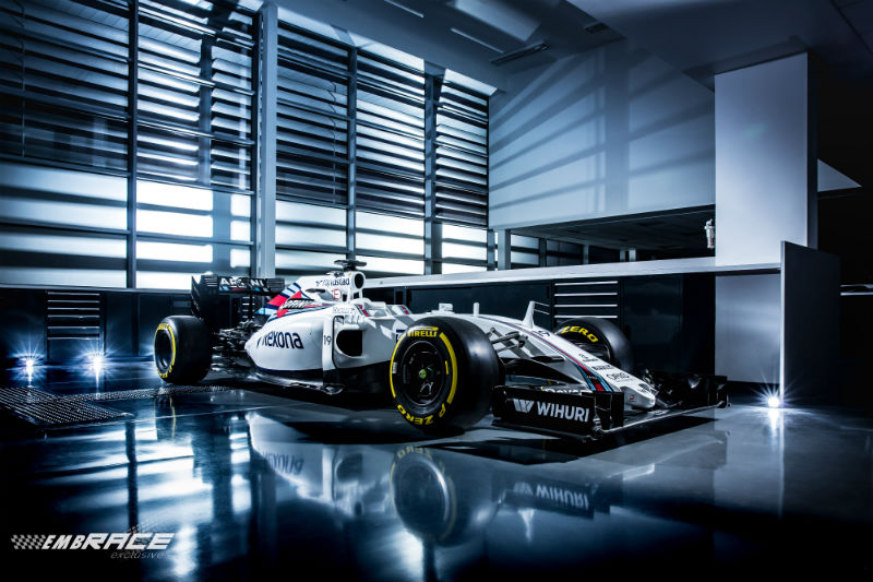 Williams presenteert FW38