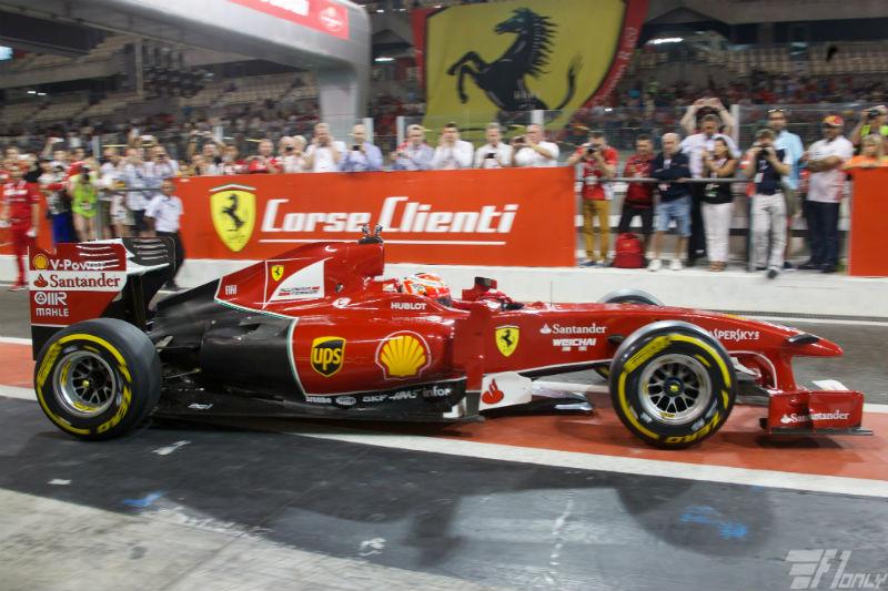 Ferrari sluit 2014 af met Finali Mondiali in Abu Dhabi