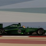 Caterham F1 Team 2014 - Robin Frijns