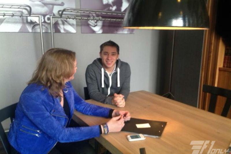 Exclusief Interview F1only met Robin Frijns