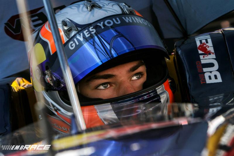 Gasly debuteert bij Toro Rosso tijdens Barcelona test