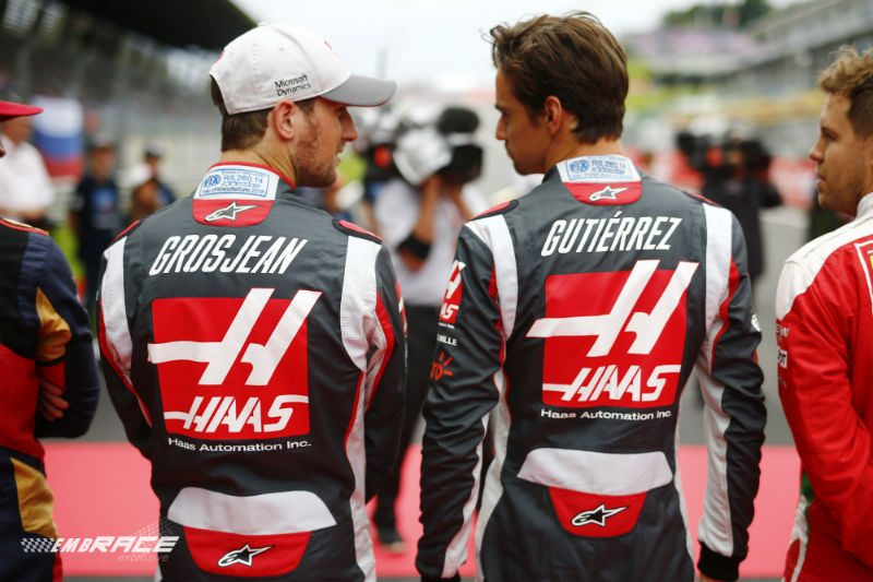 Haas line-up