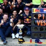 overwinning Verstappen Red Bull Racing