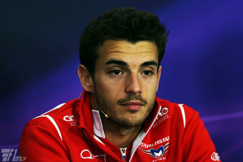 Jules Bianchi #JB17