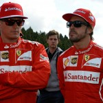 Räikkönen Alonso