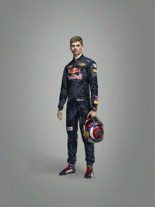 Max Verstappen Red Bull Driver Portrait