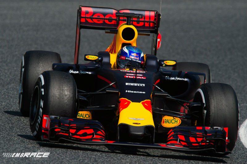 Max Verstappen Barcelona-test