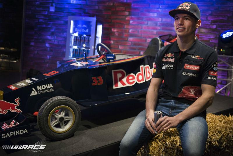 Interview met Scuderia Toro Rosso's Max Verstappen