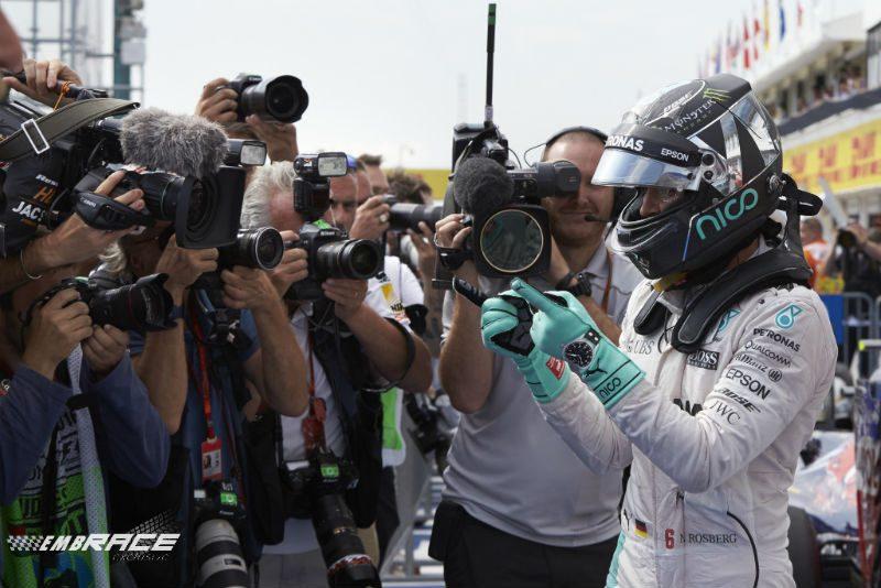 Rosberg pole Hongarije