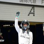 Rosberg zege China