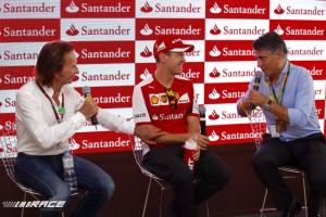 Emerson Fittipaldi, Sebastian Vettel, Pablo de Villota