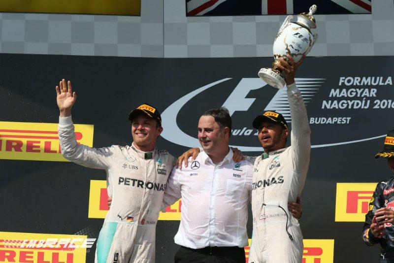 Nico Rosberg Hongarije