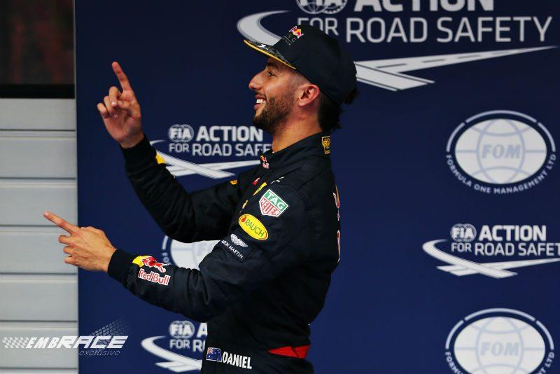 Ricciardo China tweede