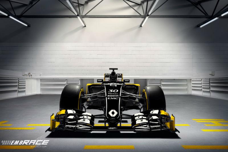 Renault presenteert Formule 1-team en auto