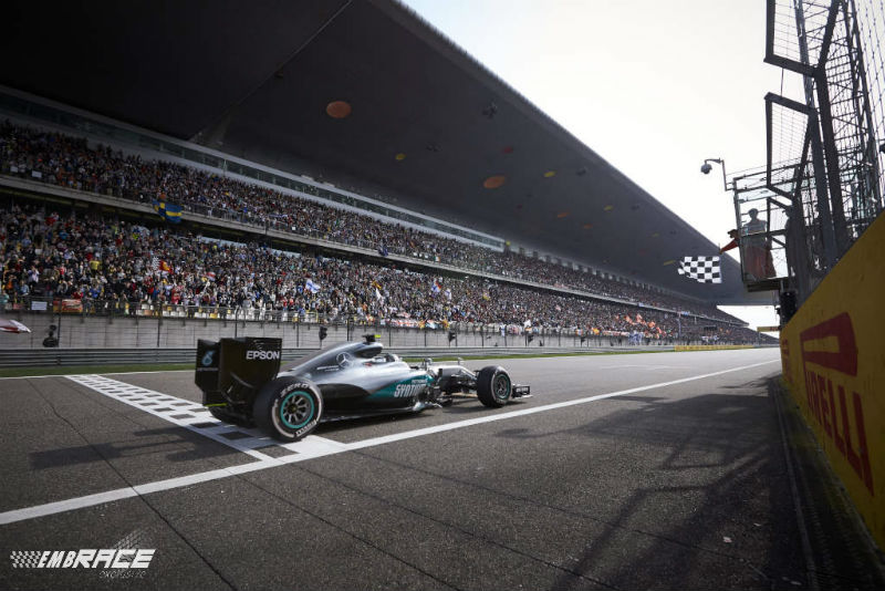 Rosberg Finish China