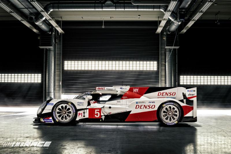 WEC: Toyota presenteert de nieuwe TS050 Hybrid