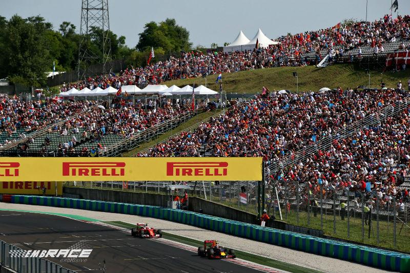 Verstappen Räikkönen Hongarije