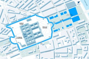 FIA Formula E - Paris ePrix - circuit layout