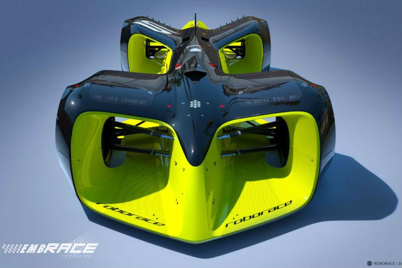 Eerste beelden conceptauto Roborace onthuld