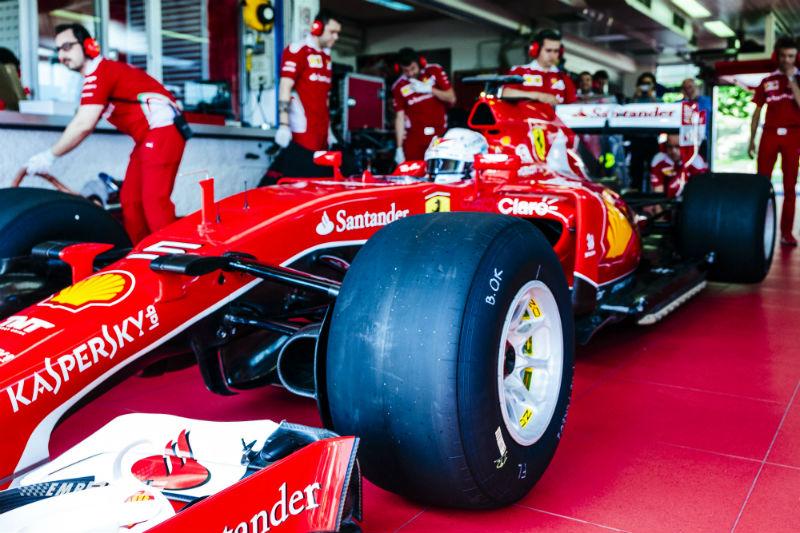 Vettel Fiorano Pirelli